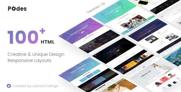 Podes | Responsive Multi-Purpose HTML Template - Business Corporate