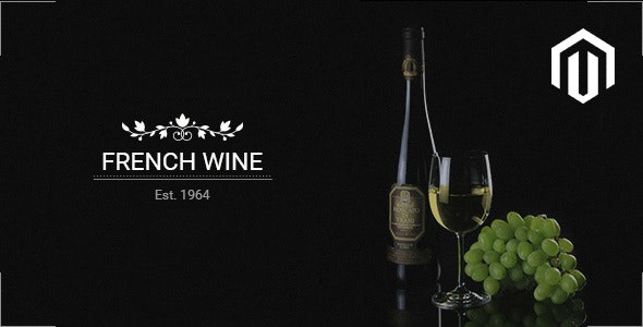 French Wine — Responsive Magento 2 Theme - Shopping Magento