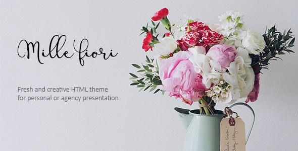 Mille Fiori - Creative Floristic Template - Creative Site Templates