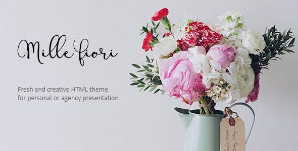 Mille Fiori - Creative Floristic Template