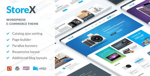 StoreX - WordPress WooCommerce Electronics Theme - WooCommerce eCommerce
