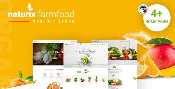 JMS Naturix - Organic Fruit Vegetables Prestashop Theme - PrestaShop eCommerce