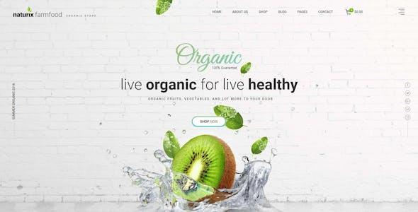 JMS Naturix - Organic Fruit Vegetables Prestashop Theme