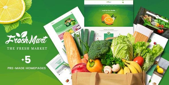 FreshMart - PrestaShop 1.7 Theme - Organic, Fresh Food, Farm - PrestaShop eCommerce