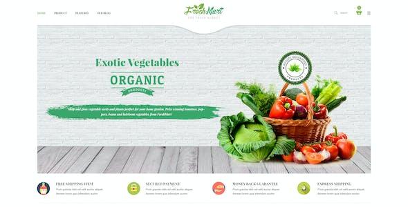 FreshMart - PrestaShop 1.7 Theme - Organic, Fresh Food, Farm