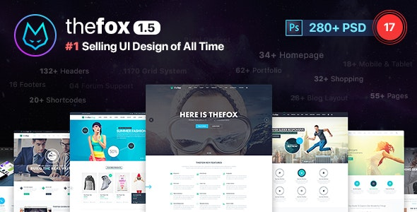 TheFox | Multi-Purpose PSD Template - Business Corporate