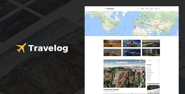 Travelog - WordPress Theme For Travelers