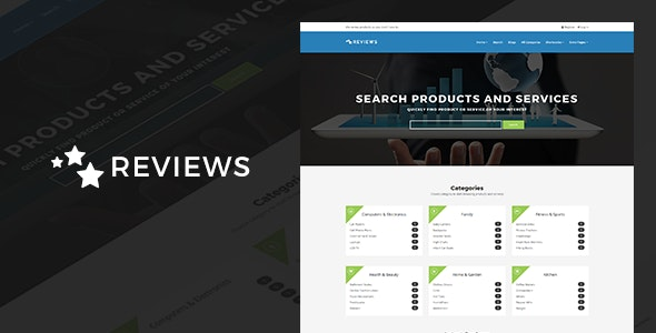 Reviews - Products And Services Review WP Theme - Directory & Listings Corporate