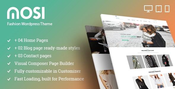 MOSI Fashion Responsive Multi-Purpose eCommerce WordPress Theme - WooCommerce eCommerce