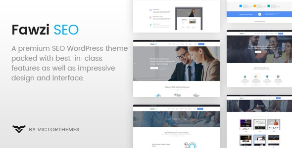 Fawzi - WordPress Theme for Marketing - Marketing Corporate