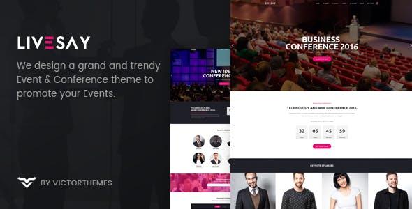 Livesay - Event & Conference WordPress Theme