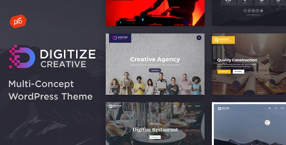 Digitize - Creative Multi-Concept Theme - Portfolio Creative