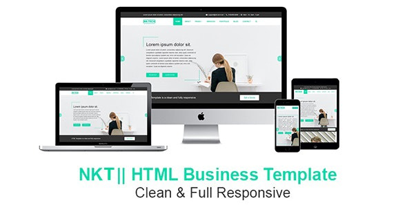 NKT - HTML Business Template - Business Corporate