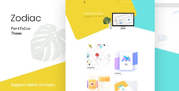 Zodiac- Creative Portfolio WordPress Theme