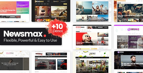 Newsmax - Multi-Purpose News & Magazine Theme - News / Editorial Blog / Magazine