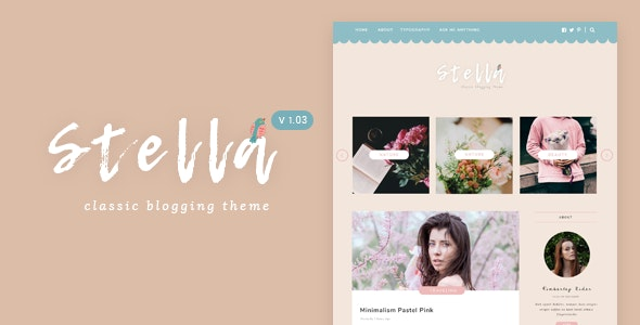 Stella | Classic & Sweet Blogging Theme - Blog Tumblr