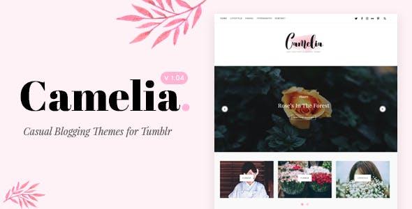 Download Camelia | Responsive Blogging Tumblr Theme