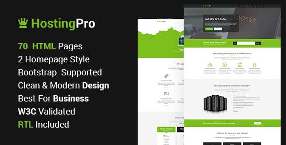 Servehost - Hosting Business Website HTML5 Template - Hosting Technology