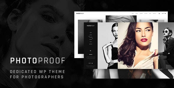 PhotoProof | Photography Responsive WordPress Theme - Photography Creative