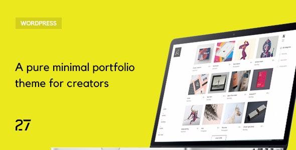 Quantica -  Creative Portfolio WordPress Theme - Portfolio Creative