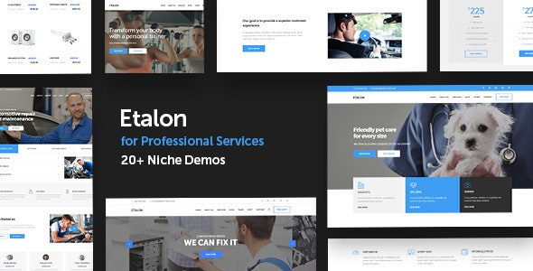 Etalon - Multi-Concept Theme for Professional Services - Business Corporate