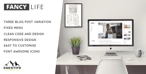 Fancy Life Blog - Personal Site Templates