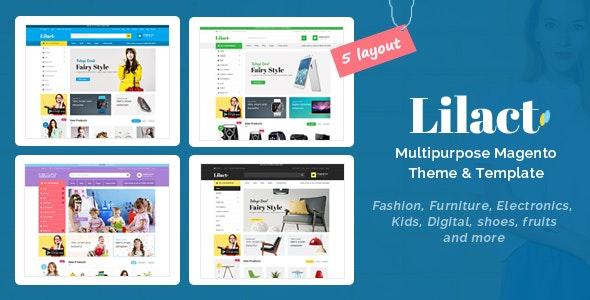 Lilac - Fashion, Apparel Store Responsive Magento Theme - Shopping Magento