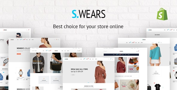 Fastest Swears – Responsive Ecommerce Shopify - Shopify eCommerce