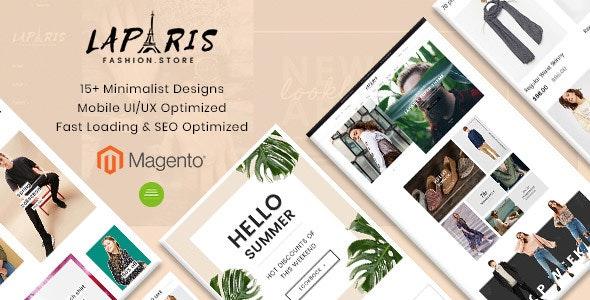 LaParis - Simple Creative Responsive Magento 2 Theme - Fashion Magento