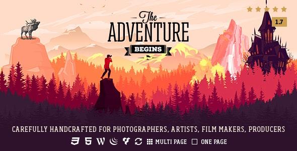 Adventure - Responsive Photography Theme - Photography Creative