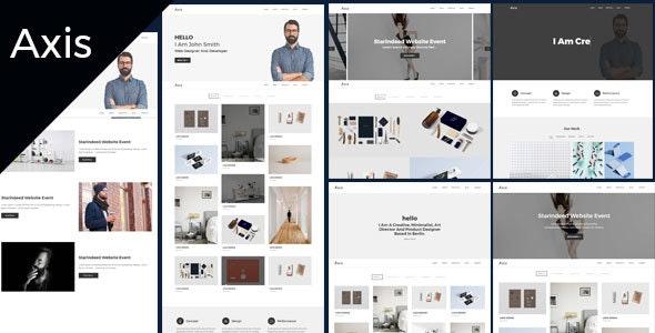 Axis Studio - Creative Agency & Portfolio HTML5 Template - Portfolio Creative