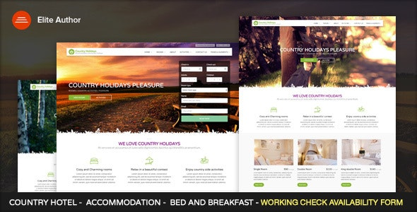 CountryHolidays - Hotel and Bed & Breakfast - Travel Retail