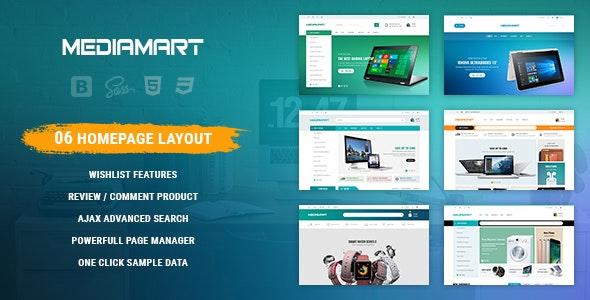 Mediamart - Facilitate Responsive PrestaShop 1.7 For Hi-Tech, Mobile, Electronic - Technology PrestaShop