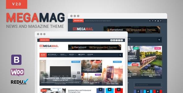 MegaMag - News and Magazine WordPress Theme - News / Editorial Blog / Magazine