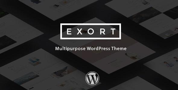 Exort - Responsive Multi-Purpose WordPress Theme - Business Corporate