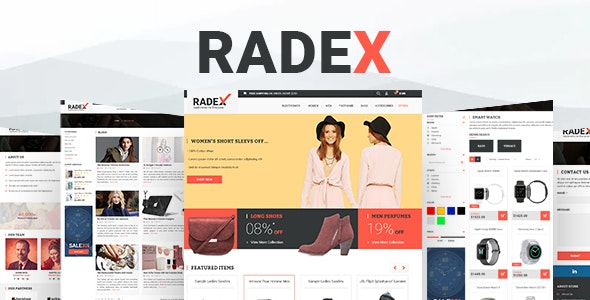 RADEX Multipupose Opencart Theme - OpenCart eCommerce