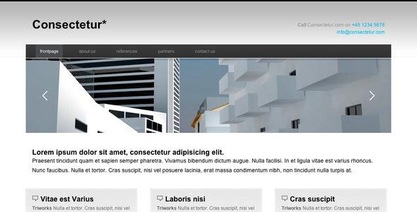 Consectetur Business & Portfolio Template - Business Corporate