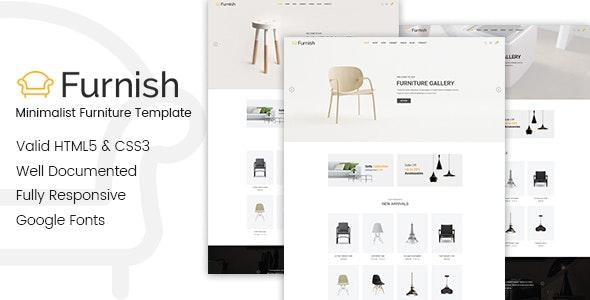 Furnish - Minimal Furniture HTML Template - Shopping Retail