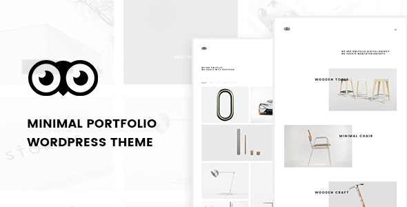 Owlfolio - Personal Portfolio WordPress Theme - Portfolio Creative