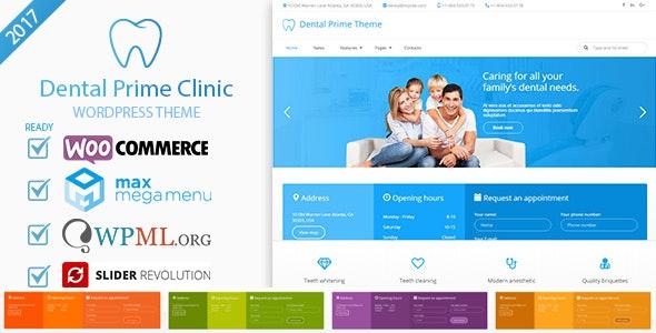 Dental Prime- Medical Health Care & Dentist Center, Multi-Purpose Responsive WordPress Theme - Health & Beauty Retail