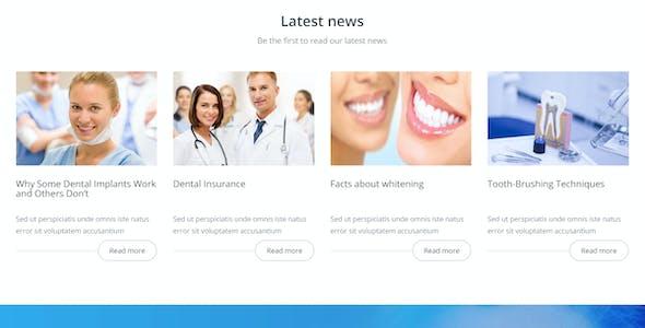 Dental Prime- Medical Health Care & Dentist Center, Multi-Purpose Responsive WordPress Theme