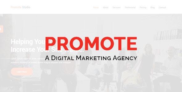 Promote-Digital Marketing Agency - Technology Site Templates