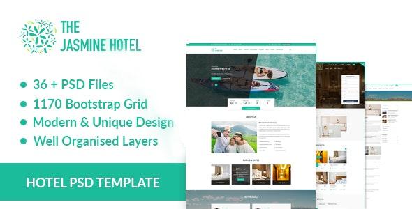 JASMINE HOTEL - Retail Photoshop