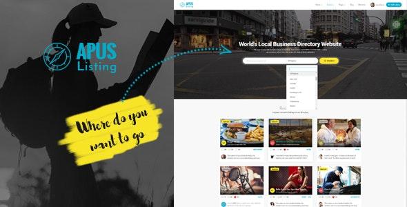 ApusListing - Directory Listing WordPress Theme - Directory & Listings Corporate