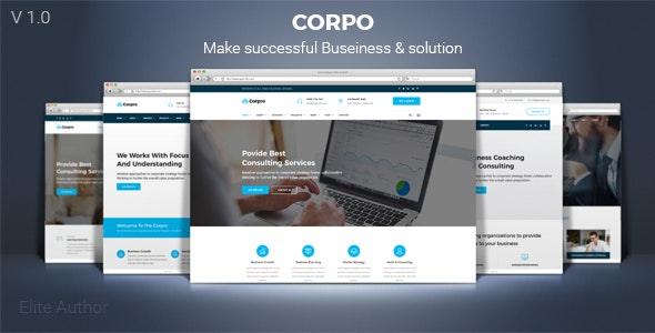 Corpro - Business Consulting and Professional Services HTML Template - Business Corporate