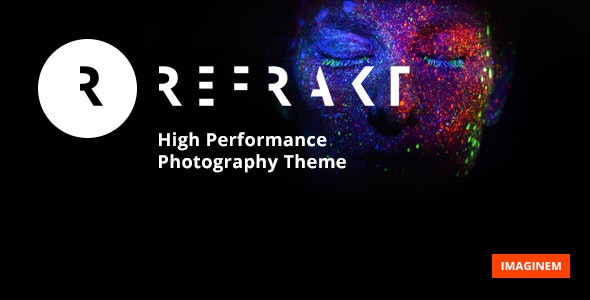 Refrakt | Photography Theme for WordPress - Photography Creative