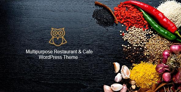 OWL - Multipurpose Restaurant & Cafe WordPress Theme - Restaurants & Cafes Entertainment