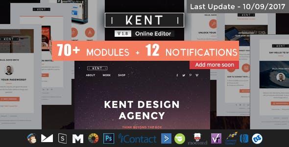 Kent - Responsive Email Set