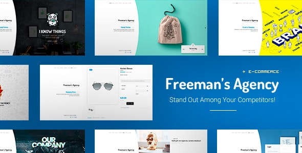 Freeman - Creative WordPress Theme for Agencies - Portfolio Creative