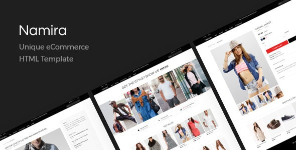 Namira | Unique eCommerce HTML Template - Shopping Retail
